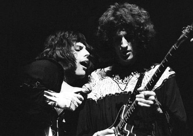 Freddie Mercury et Brian May