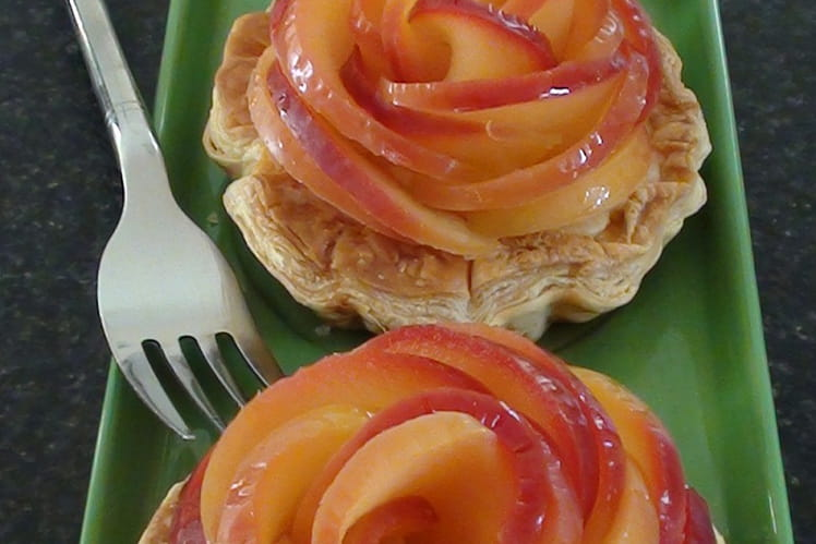 Tartelettes boutons de rose