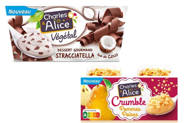 Les nouveaux desserts Charles & Alice