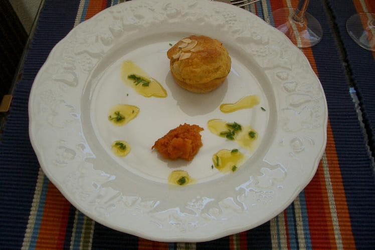 Muffins au giraumon et son vermicelle