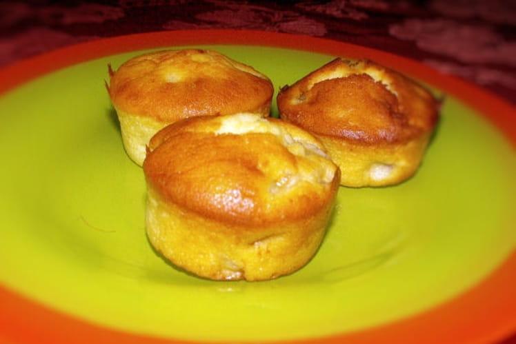 Muffins à la banane et aux pistaches
