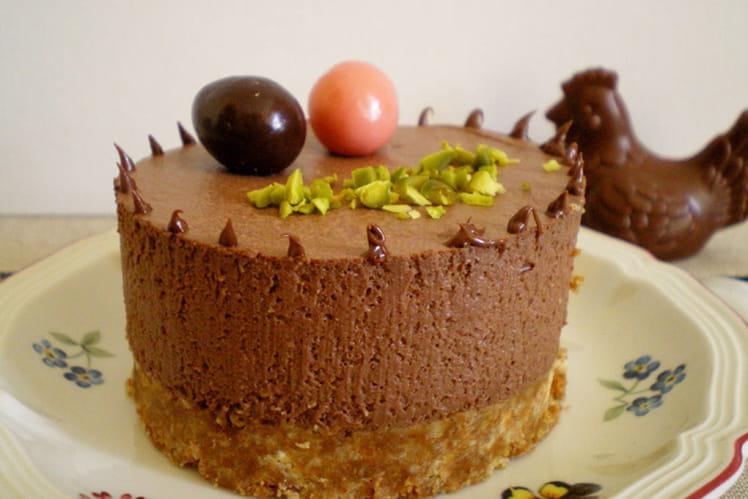 Cheesecake chocolat-ricotta sans cuisson