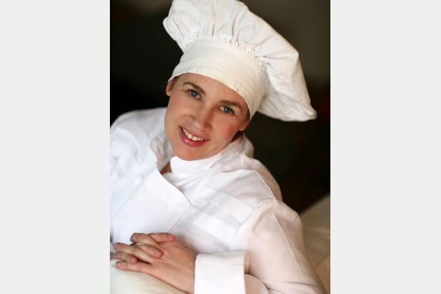 Hélène Darroze, chef du restaurant Hélène Darroze