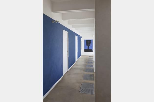 Peinture Bleu Ourem par Guittet