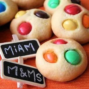 cookies aux m&ms