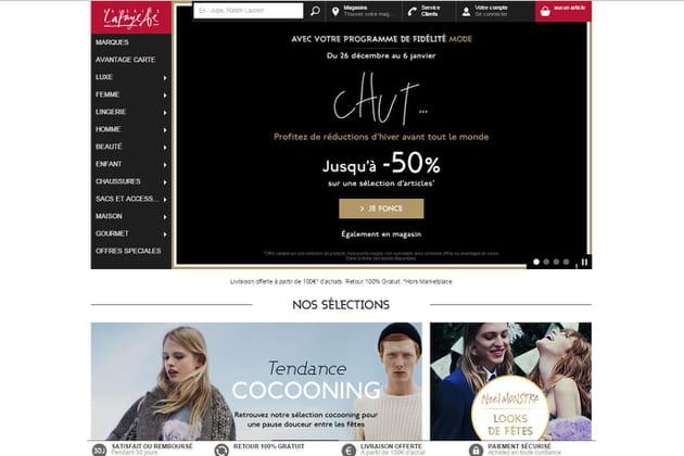 Le e-shop des Galeries Lafayette
