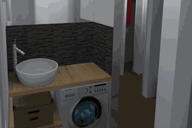 La salle de bains de Marie-Lise Cifarelli