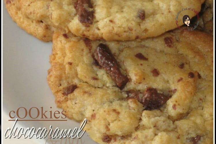 Cookies coco et choco-caramel