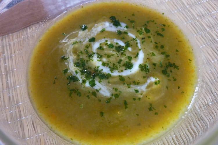 Soupe aux légumes du jardin