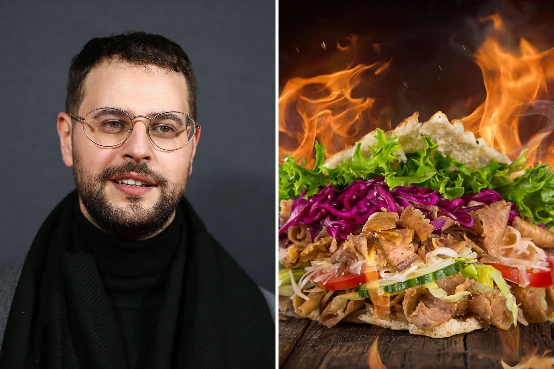 "L'humoriste Hakim Jemili va ouvrir un ""Super Dangereux Kebab"""