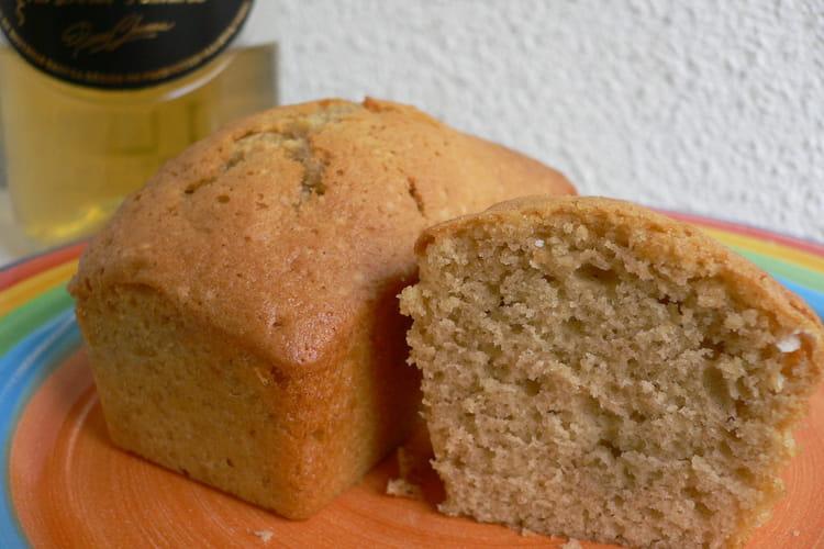 Biscuit moelleux au muscat et à l'huile d'olive
