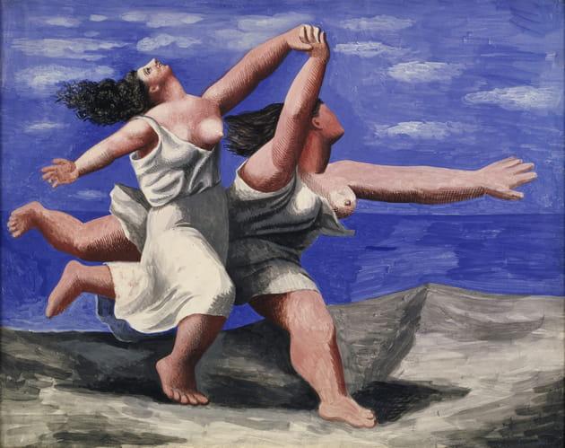 Deux femmes courant sur la plage - Pablo Picasso