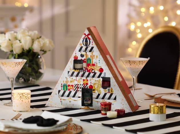 Calendrier pyramide de bougies par Yankee Candle