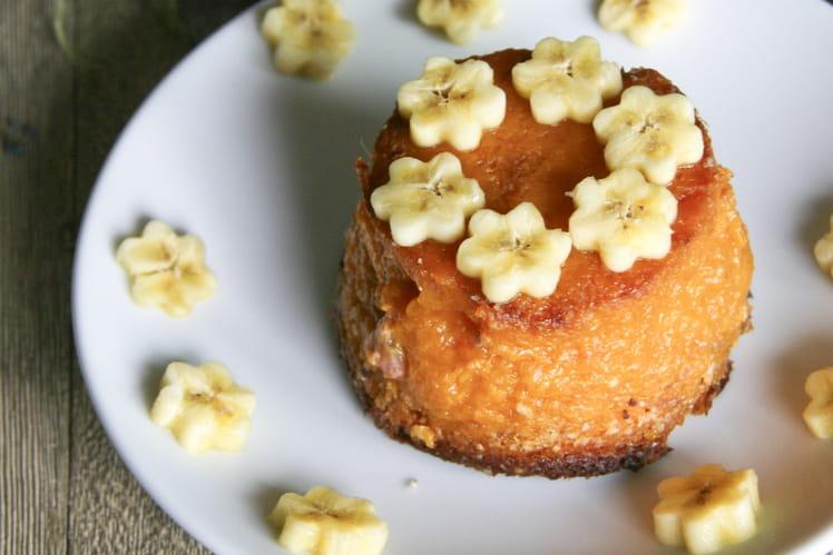 Gâteau végétalien à la patate douce et à la banane