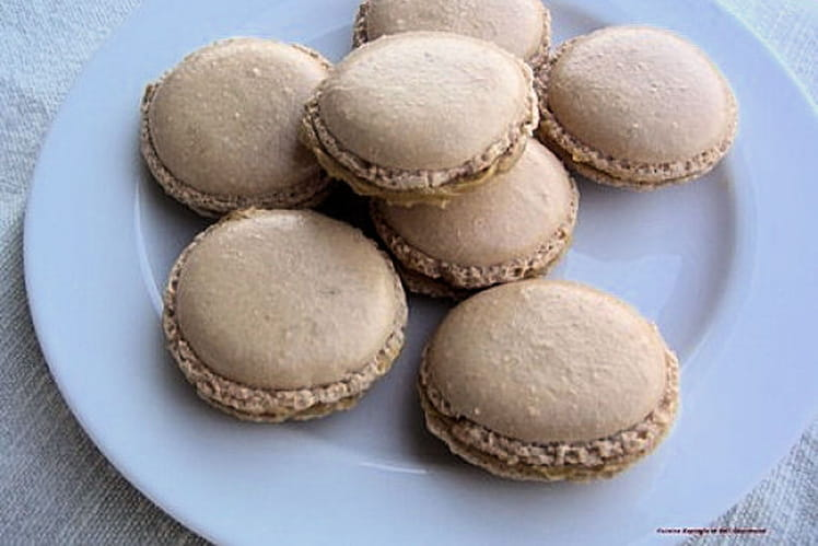 Macarons à la crème de feta