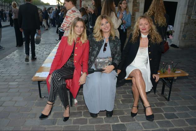 Ilona Smet, Nathalie Baumgartner et Julie Ferrier