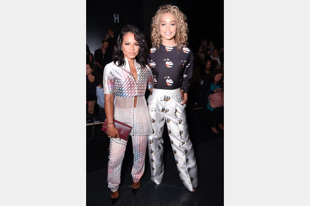 Christina Milian et Jasmine Sanders