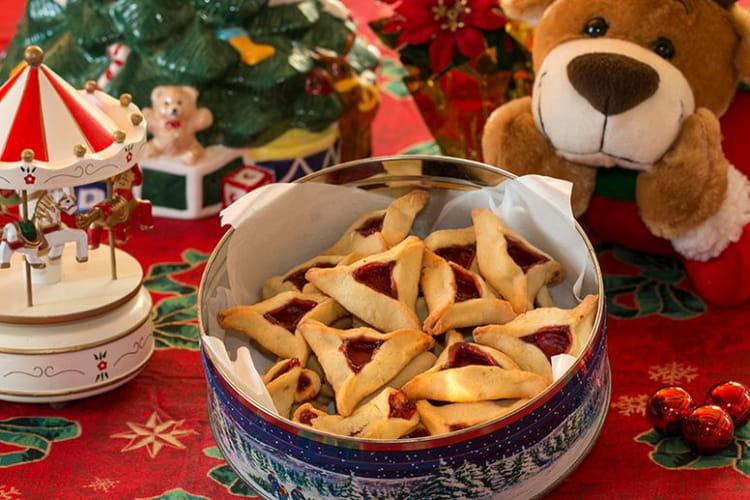 Biscuits de Noël Bonnets de Moines