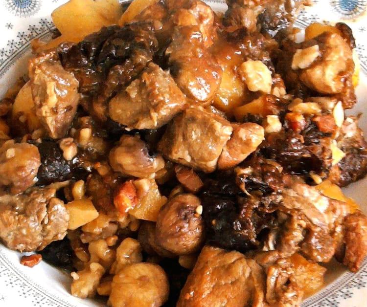 Saut de porc marrons pruneaux - Cuisiner les pruneaux ...
