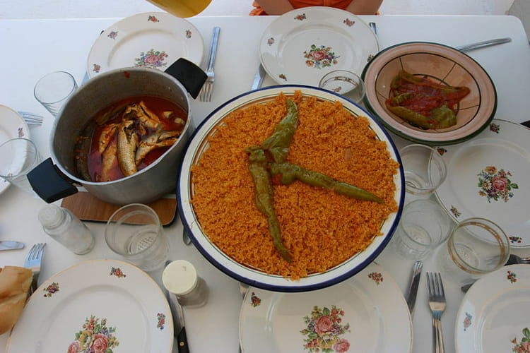 Couscous tunisien au poisson