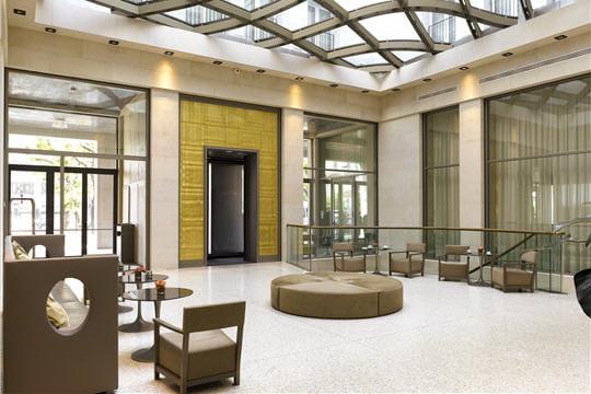 L'hôtel Rosa Grand, dans le plus pur style italien