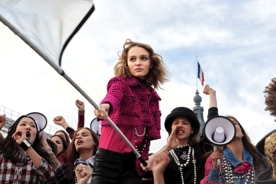 N°5L'Eau de Chanel: La genèse de la pub avec Lily-Rose Depp