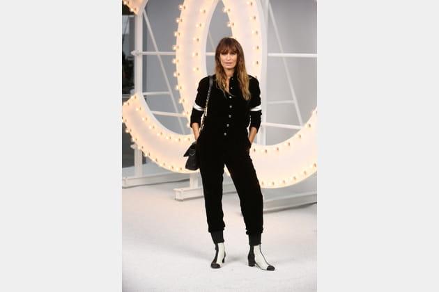 Caroline Maigret au défilé Chanel