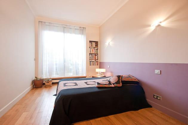 Petit loft zen : chambre d'amis