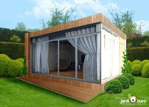Avoir un bureau dans son jardin c est désormais possible