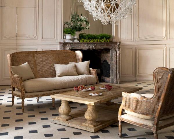 salon trianon et table hudson du bout du monde. Black Bedroom Furniture Sets. Home Design Ideas