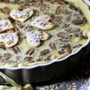 tarte aux noix de pécan pleine d'amour