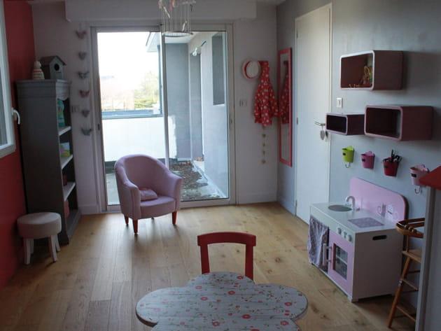 Après : une chambre de petite fille