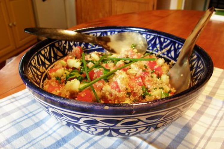 Salade d'été au quinoa