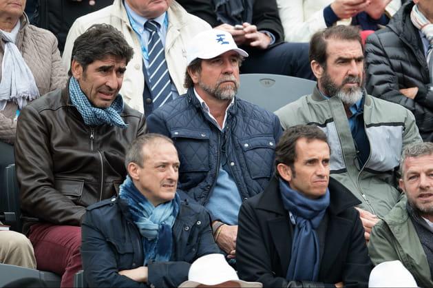 Joël, Jean-Marie et Eric Cantona