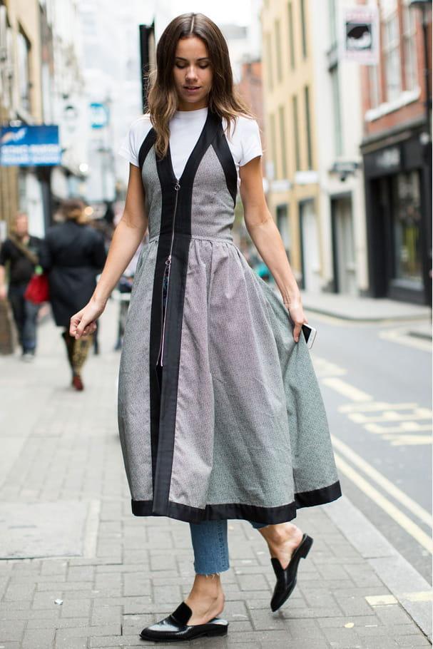 La robe sur pantalon