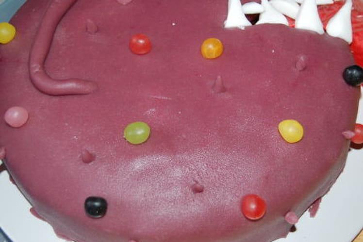 Gâteau aux sucreries