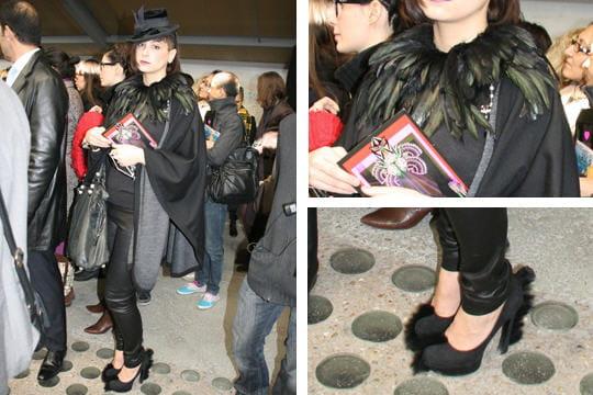 Fashion week : les street looks des défilés parisiens PAP automne-hiver 2011-2012 29