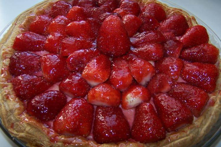 Tarte aux fraises inratable