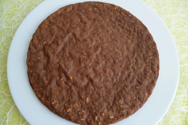 Pancake-cookie complet cacao et pommes séchées aux 5 céréales