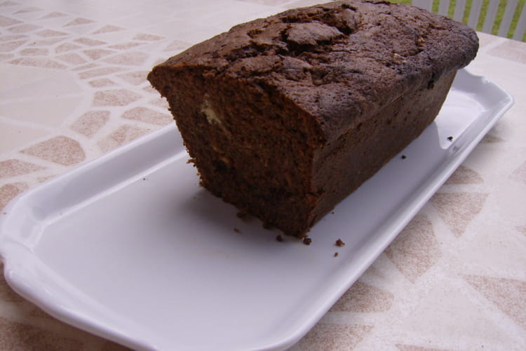 Gâteau courgettes chocolat