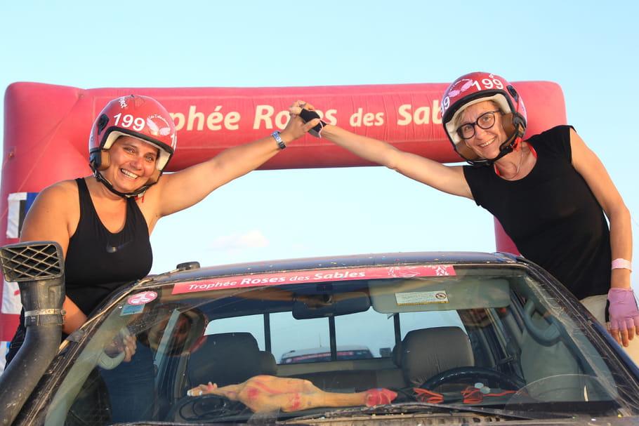 """Trophée Roses des Sables: Anne & Audrey, porte-parole de l'association """"Le cancer du Sein Parlons En!"""""""