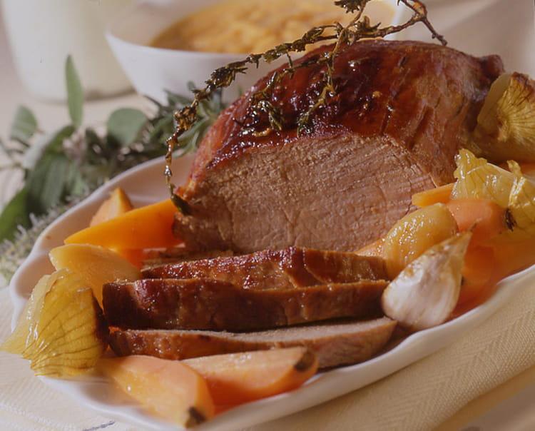 Recette de palette de porc aux pices la recette facile - Cuisiner la palette de porc ...