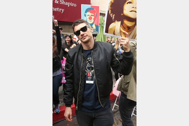 James Franco à la Women's March de Los Angeles