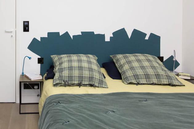 Réaliser une tête de lit en peinture