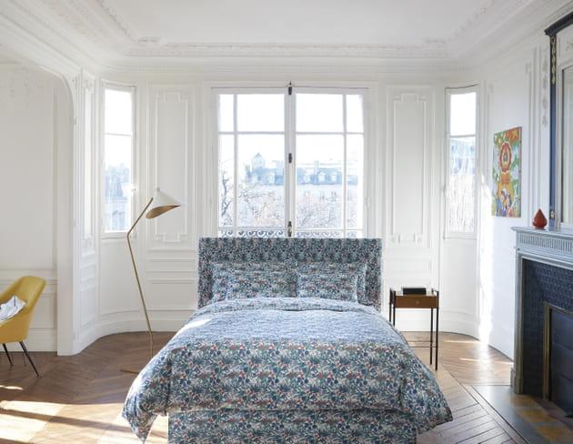 Parure de lit Palais Royal Jardin par Descamps