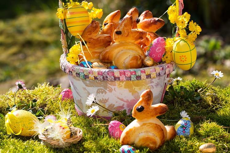 Brioches Lapinous de Pâques