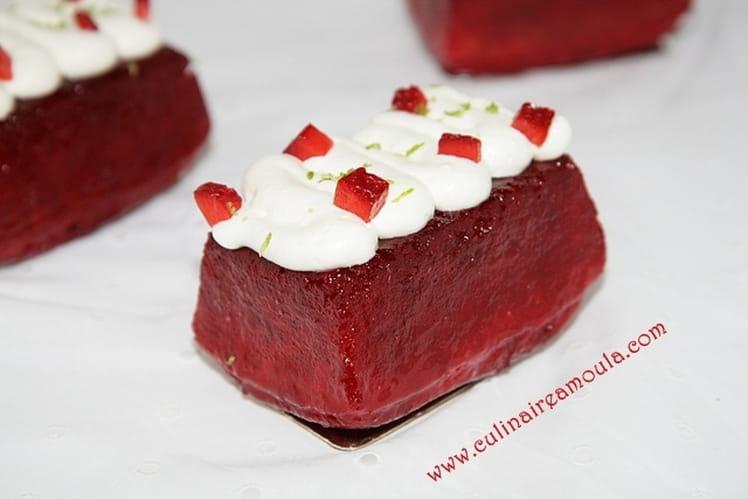 Baba à la fraise