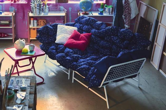Fauteuil d'angle par J.Booy/K.Booy pour Ikea PS