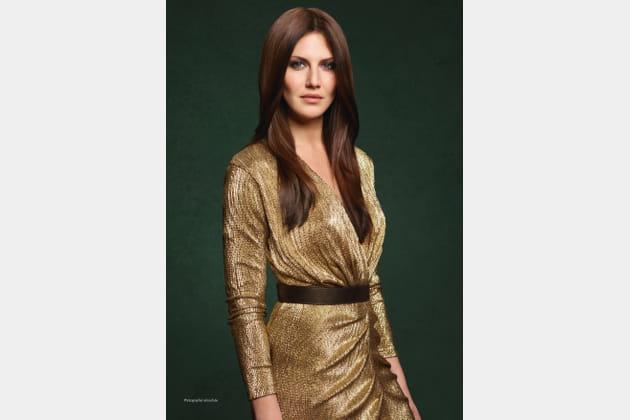 Le look golden
