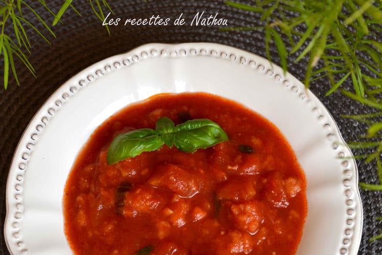 Soupe froide de Toscane : pappa al'pomodoro